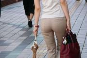 【画像】女体の下半身姿が丸分かりなズボンを履いてる女さんがコチラwww